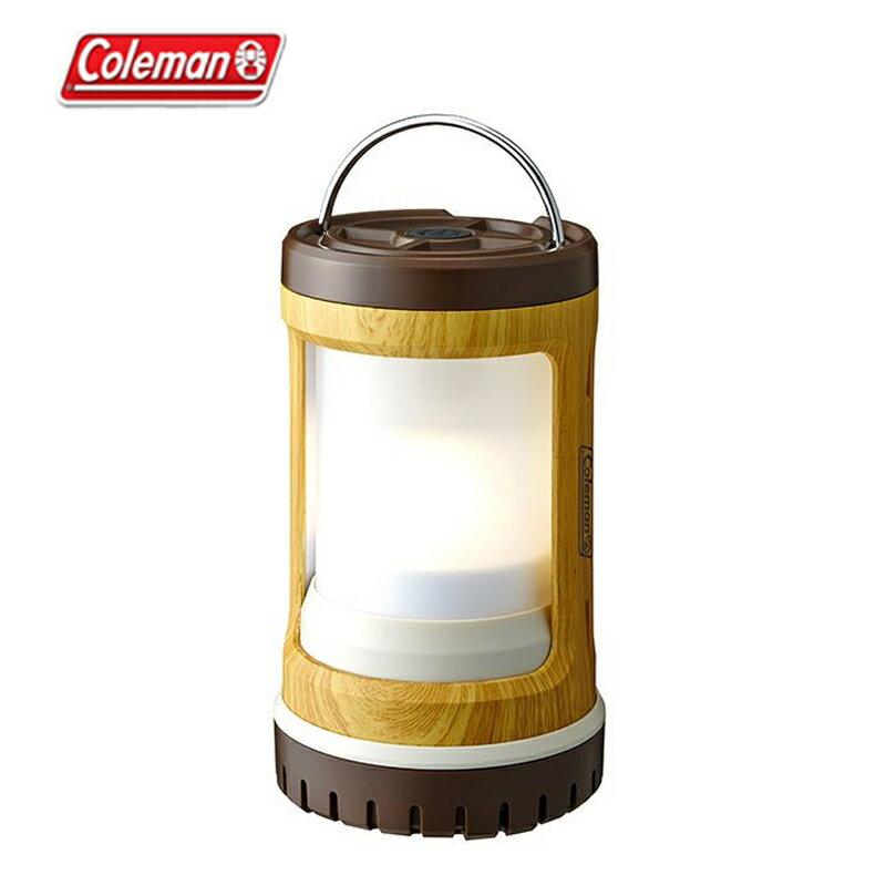 【露營趣】中和安坑 Coleman CM-31273 BATTERYLOCK 緊湊型營燈/天然木紋 野營燈 掛燈 照明燈 露營燈