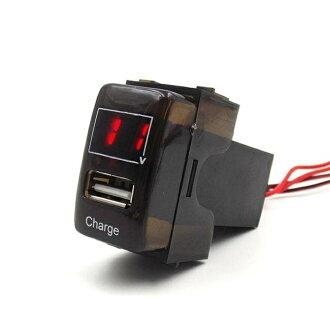 電壓款 TOYOTA原廠款雙USB充電電源插座 2.1A(免挖孔)ALTIS CAMRY YARIS VIOS WISH