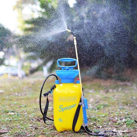 澆花噴壺氣壓式家用噴水壺高壓力噴霧器小型園藝灑水壺高壓噴霧瓶