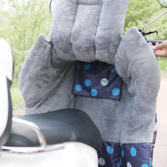 電動摩托車擋風被冬季手套保暖小電瓶車防風罩分體加絨加厚自行車