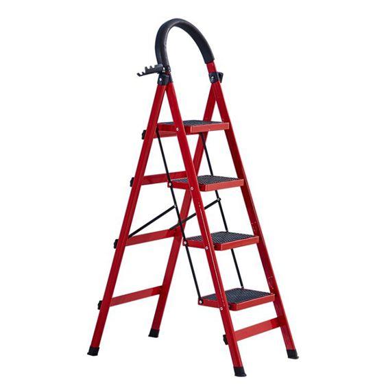 梯子家用折疊梯加厚多 人字梯爬梯伸縮樓梯四步五步梯室內扶梯