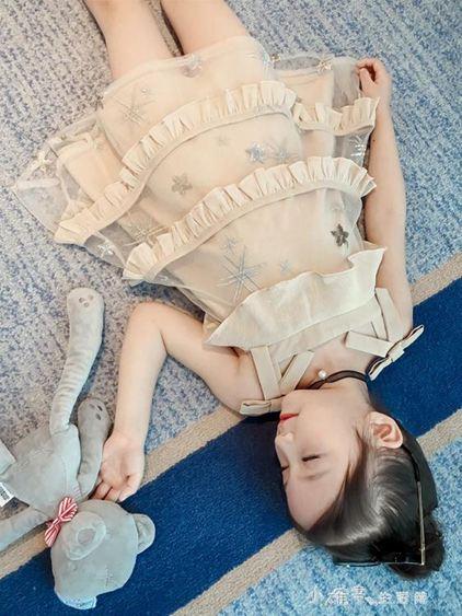 女童夏裝夏季中大童裝小女孩公主裙子兒童韓版洋氣連身裙