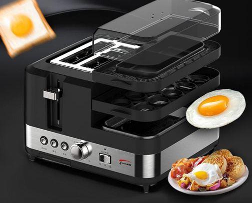 早餐機多士爐全自動家用多功能早餐吐司烤面包機免運