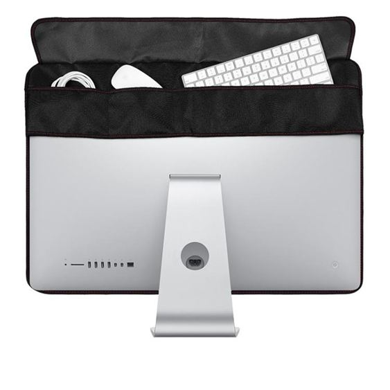 21.5/27寸蘋果一體機電腦顯示屏絨布防塵罩imac屏幕保護套收納袋