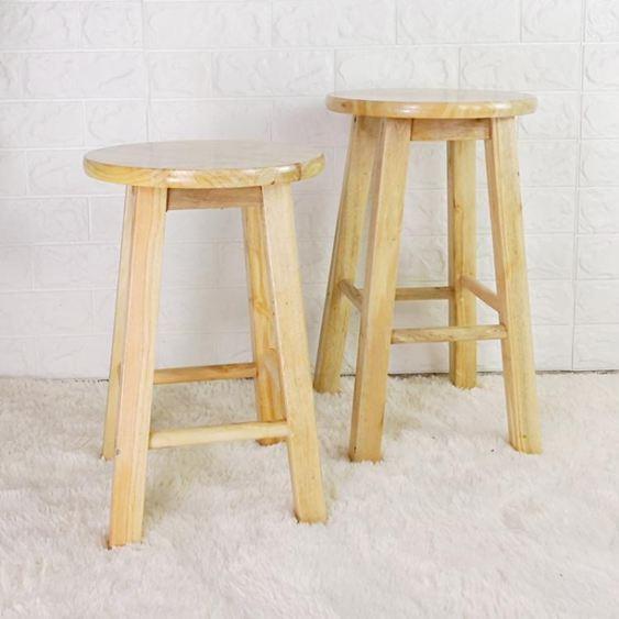 高腳木凳吧凳梯凳高板凳酒吧椅子實木圓凳高凳凳子木凳餐凳家用