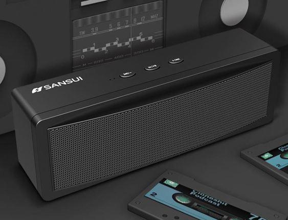 藍芽音箱無線超重低音炮迷你插卡電腦車載收音機DF