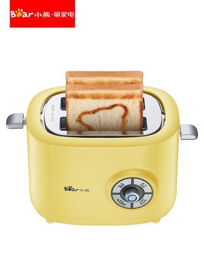 麵包機烤面包機家用早餐吐司機2片全自動土司機迷你小熊多士爐面包片小