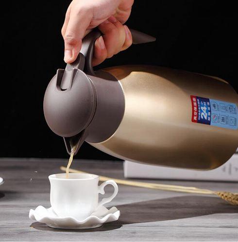 保溫壺家用2升304不銹鋼真空熱水瓶開水瓶戶外暖水壺大容量