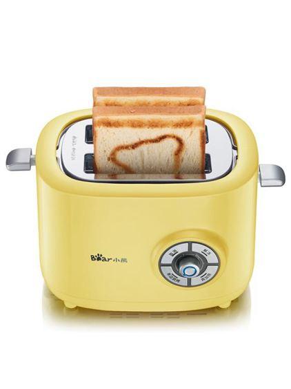麵包機小熊烤面包機迷你家用吐司機全自動早餐神器多士爐電器官方旗艦店