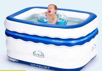 泳池兒童充氣嬰兒游泳池寶寶家用游泳桶嬰幼兒海洋球池保溫玩具