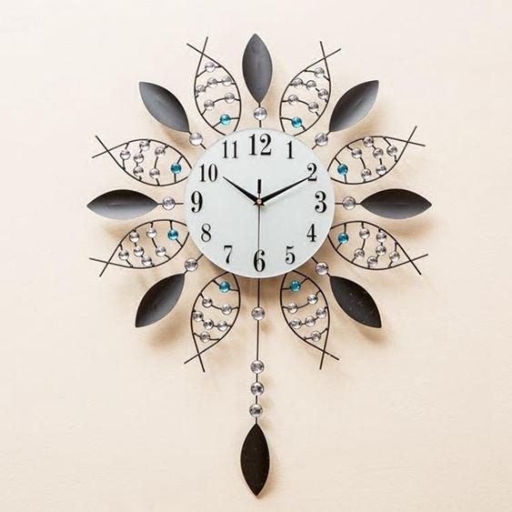 掛鐘鐘錶時尚潮流客廳現代簡約時鐘個性壁鐘家用藝術裝飾大氣