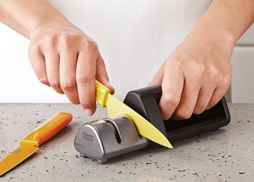 磨刀器兩用磨刀器鋸齒刀磨刃器磨刀石小巧防滑