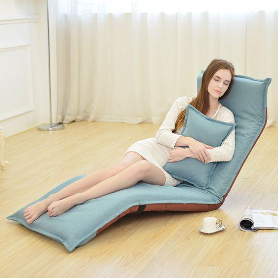 懶人沙發可折疊單人床榻榻米陽臺飄窗臥室布藝地板