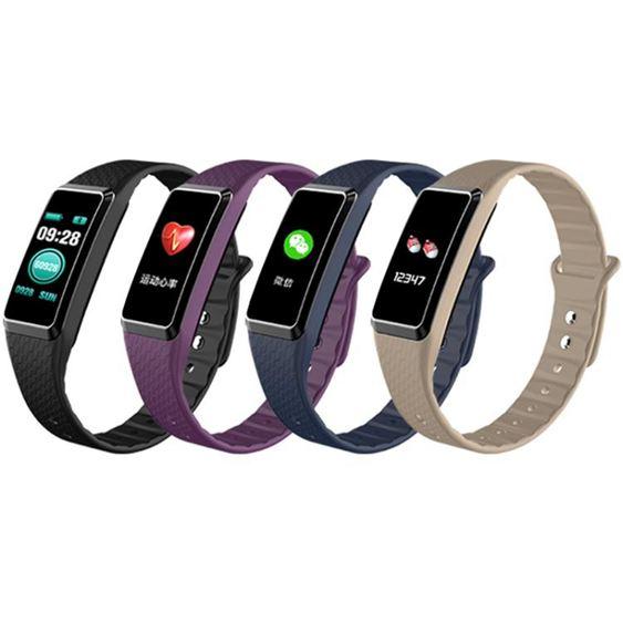 手環蘋果vivo通用彩屏運動智慧手環防水計步器健康男女華為多功能手錶