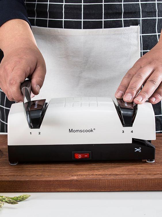 磨刀器磨刀器廚房家用電動多功能定角磨刀器磨刀石快速磨菜刀剪