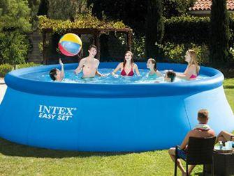 泳池美國充氣游泳池超大號家用成人兒童泳池加厚加高家庭戲水池