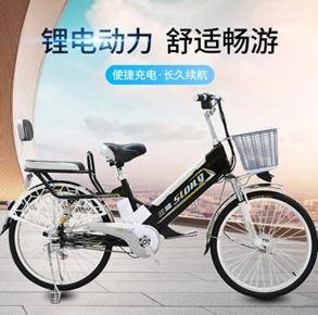電動車代步鋰電池電動成人自行車電瓶助力車女性男士