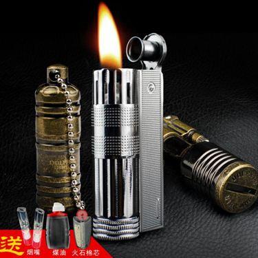 打火機老式煤油打火機創意個性復古懷舊便攜火機生日禮物送男友
