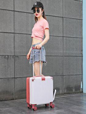 網紅迷你行李箱ins輕便小型拉桿密碼旅行箱子女小號20男18寸韓版