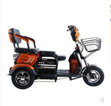 電動三輪車家用老年小型三輪電瓶車成人代步車老人接送孩子帶車棚