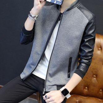 秋季外套男士潮流韓版帥氣修身新款休閒男裝春秋裝夾克上衣服