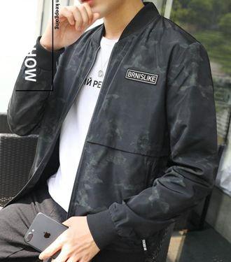 外套男秋季薄款韓版潮流帥氣新款男士棒球春秋夾克上衣服男裝