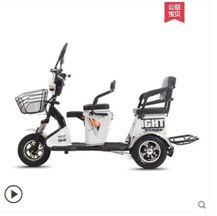 電動三輪車代步車接送孩子成人家用新款電瓶車電三輪老人小型老年