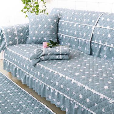 季防滑全蓋沙發墊子套歐式簡約現代坐墊四季通用布藝全包罩巾居家物語生活館