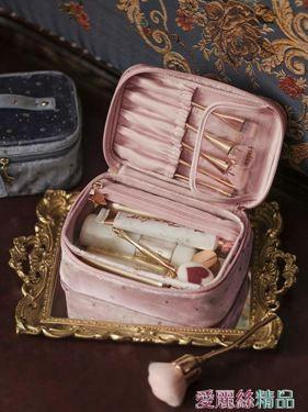 化妝包 化妝包網紅大容量化妝品收納包女袋小號隨身便攜箱ins風超火居家物語生活館