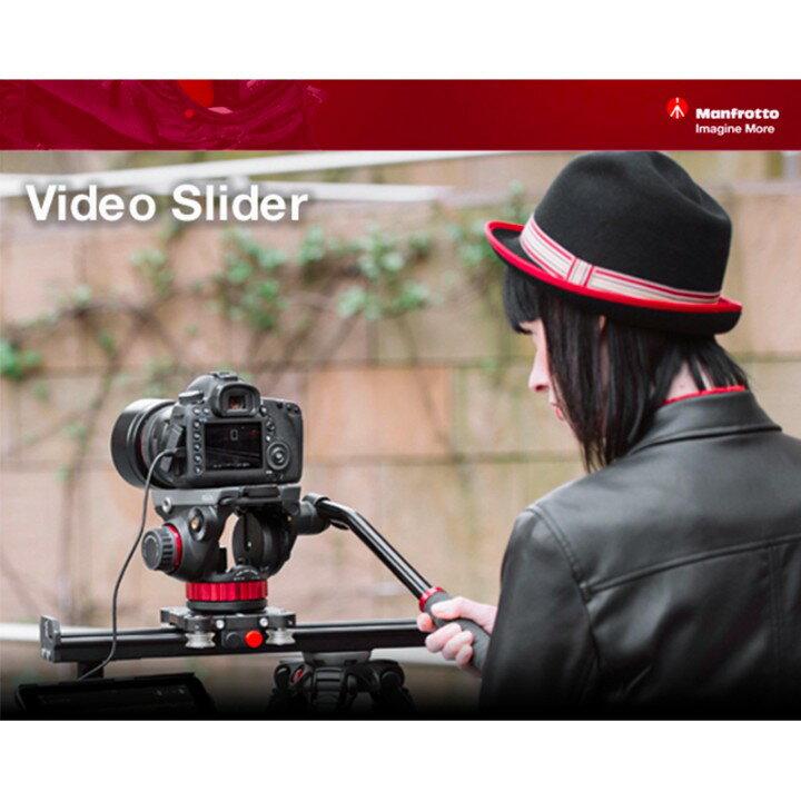 【eYe攝影】正成貨 Manfrotto MVS060A + 502AH 雲台 60cm 專業錄影滑軌 攝影 婚禮錄影