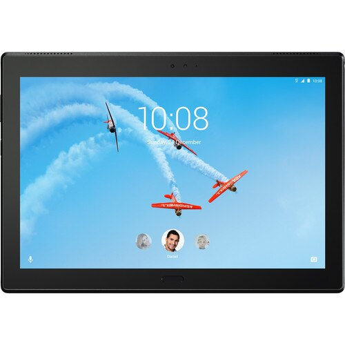 "Lenovo 10.1"" Tab 4 10 Plus 16GB Tablet (Wi-Fi/LTE, Slate Black) BZA2T0000US 1"