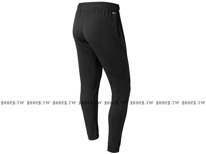 Shoestw【AMP73011BK】NEW BALANCE NB服飾 Tech Fleece 長褲 運動褲 縮口褲 NB DRY 保暖 內刷毛 黑色 男生 1