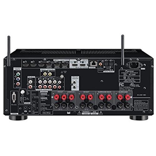 Elite SC-LX501 3D Ready A/V Receiver - 7.2 Channel - Multizone - 0.1% THD - DTS X, Dolby Atmos, Dolby TrueHD, Dolby Digital Plus, Dolby Digital Surround, DTS Neo:X, DTS Neural:X, DTS-HD Master Audio, DTS-HD High Resolution, DTS 96/24, DTS-ES, ... - Intern 1