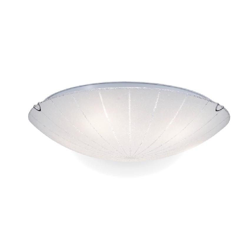 【NATIONAL】五燈傘夏50CM吸頂燈鑽石玻璃E27X5+1 《適用於4-6坪》