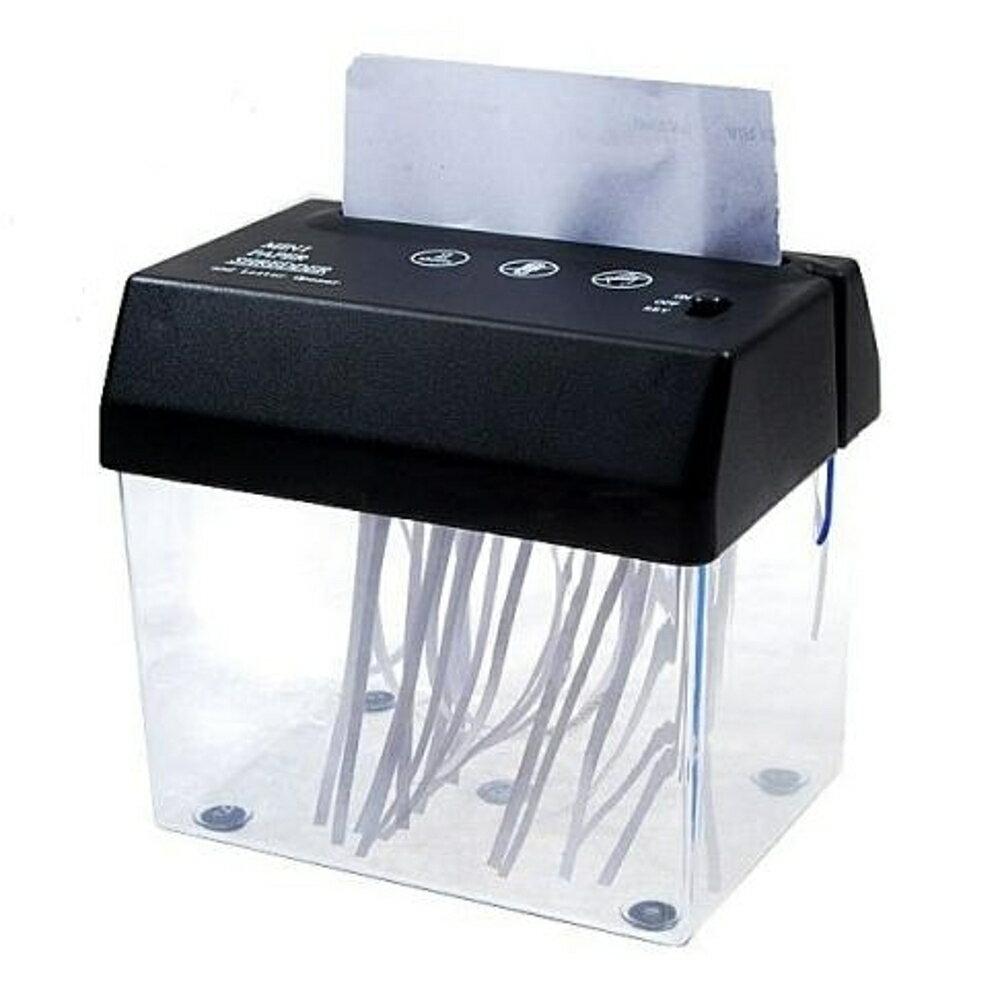 碎紙機 碎紙機USB電池兩用型電動碎紙機迷你USB碎紙機A4紙懶人開信刀開信封口   領券下定更優惠