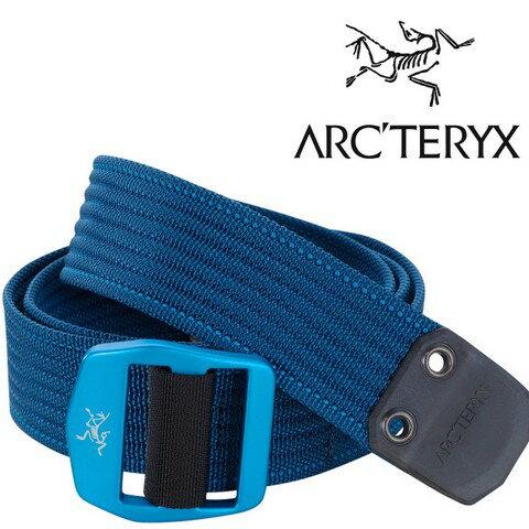Arcteryx 始祖鳥 休閒腰帶/帆布腰帶 Conveyor Belt 12129/17381 海神波賽頓藍