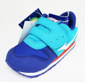 MIZUNO美津濃 童鞋 促進發育鞋墊 學步鞋 TINY RUNNER K1GD173201(水藍)[陽光樂活]