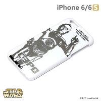 正版 Starwars iPhone 6/6s 星際大戰 金箔硬殼光明系列 - C-3PO