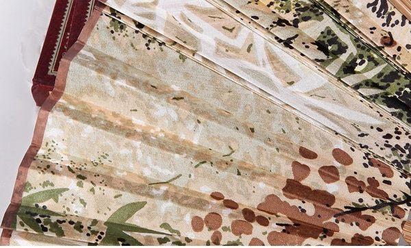 日式真絲櫻花 工藝和風絹扇7