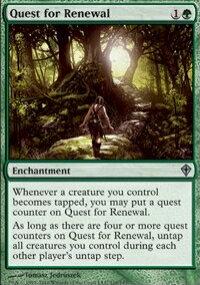 【Playwoods】 MTG 魔法風雲會 WWK No. 110 Quest for Renewal 探索新機 UC卡(白卡非普綠結界)