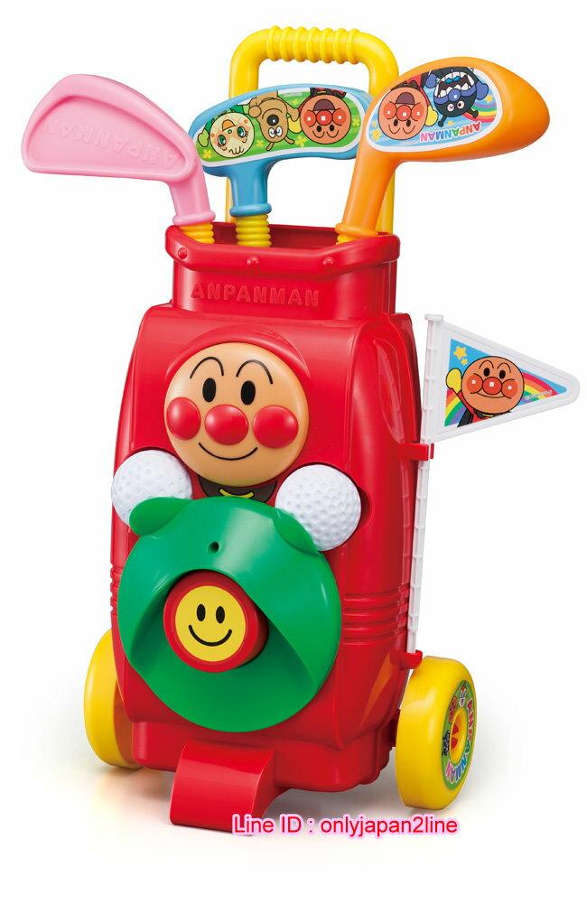 【真愛日本】16112400016高爾夫球球桿拖車-AP  Anpanman 麵包超人 玩具 正品 限量 預購