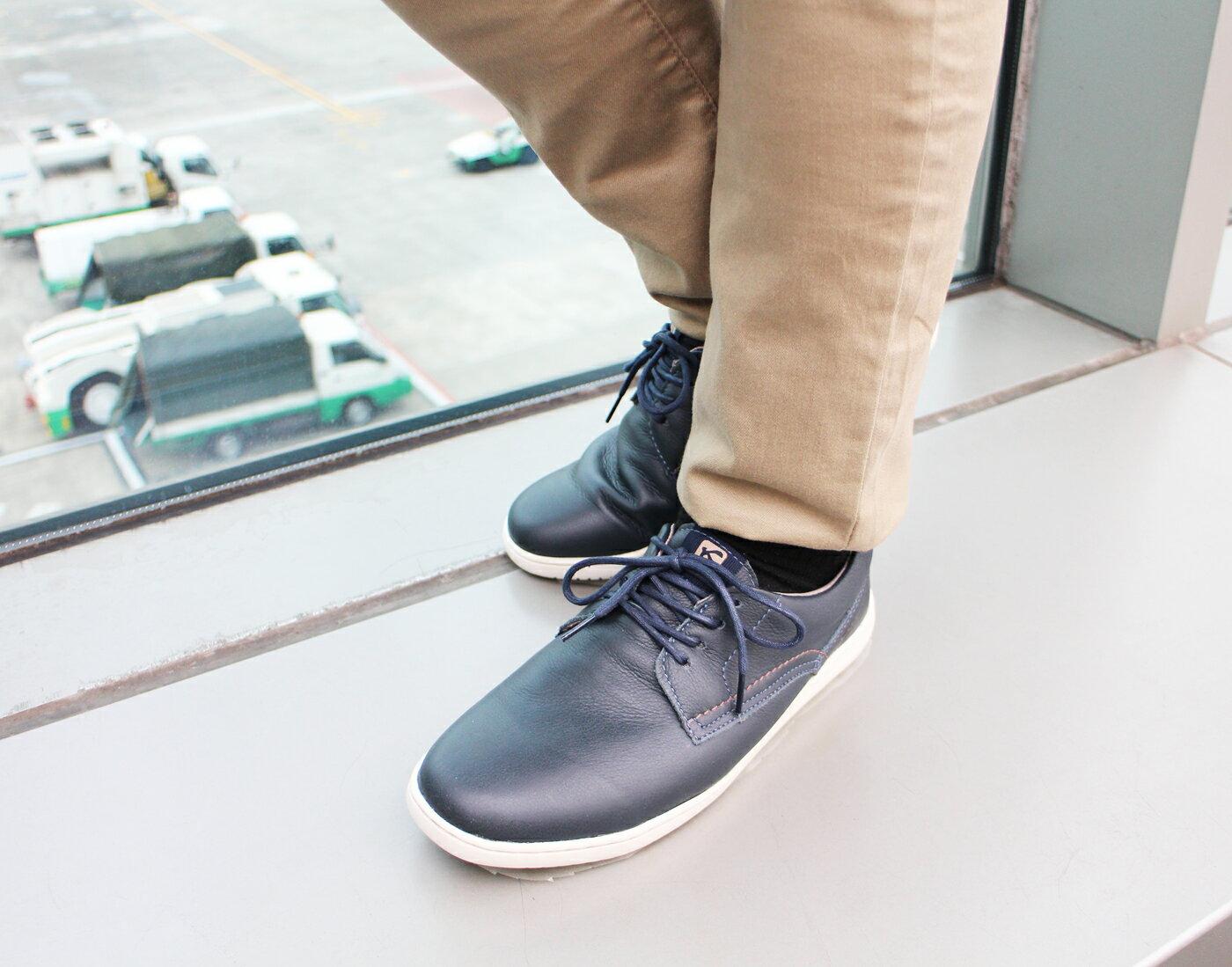 【KILDARE 促銷7折│全店免運】KILDARE綁帶休閒鞋 藍綠 男 慢跑 0