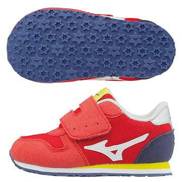 K1GD173216(紅X白)TINY RUNNER  5 幼兒鞋 A【美津濃MIZUNO】