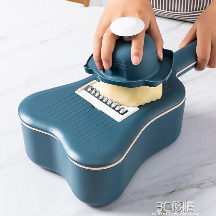 廚房神器多功能切菜器土豆絲切絲擦絲器家用蘿卜絲刨絲器切菜機