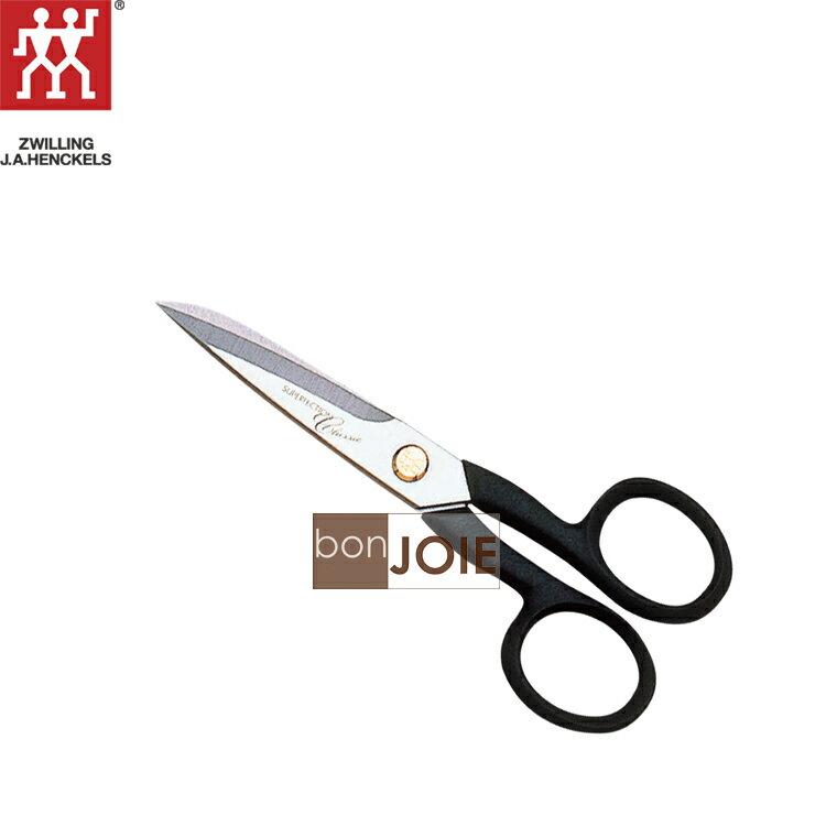 ::bonJOIE:: 德國雙人牌 5 吋 (130 mm) 經典家用剪刀 ( 不鏽鋼 事務用 工作用 剪刀 家用 家庭用 家用剪 剪紙 )