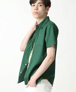 短袖透氣襯衫GREEN