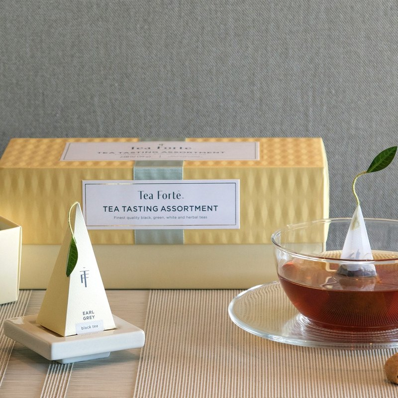 Tea Forte 20入金字塔型絲質茶包 - 柑橘薄荷茶 Presentation Box - Citrus Mint 2