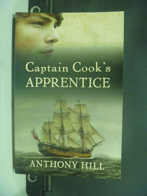 【書寶二手書T8/原文小說_NLT】Captain Cook's Apprentice_Anthony