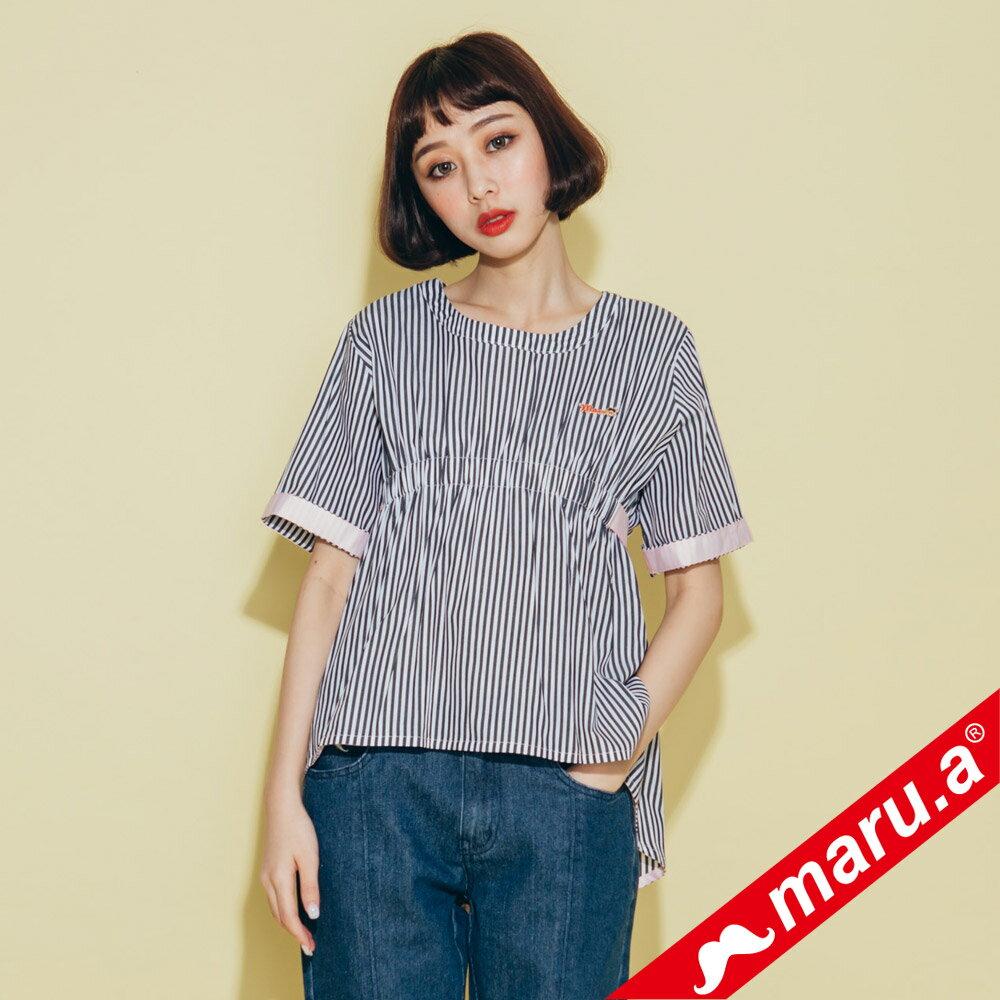 【maru.a】領口挖空舒適上衣(2色)8313112 6