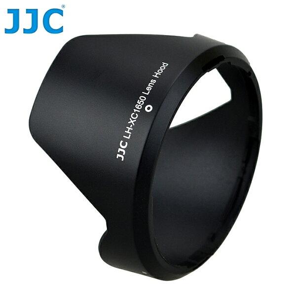 我愛買:我愛買#JJC富士副廠FujifilmXC16-50mmF3.5-5.6OISII代可反扣倒裝XC-1650相容原廠Fujifilm遮光罩FUJINON遮罩XC1650太陽罩XC遮陽罩1:3.5-5.6F3.5-5.6蓮花型遮光罩花瓣型遮光罩lenshood